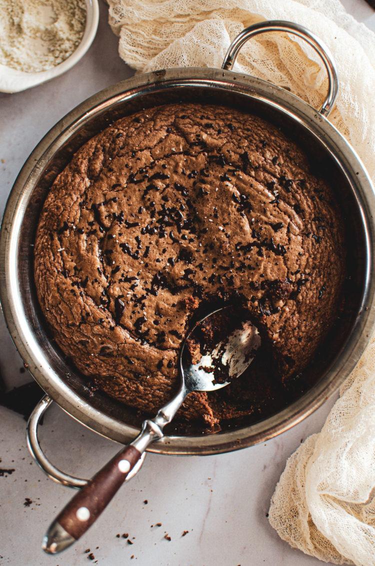 Cookie géant à partager, ou pas si vous êtes très gourmands!